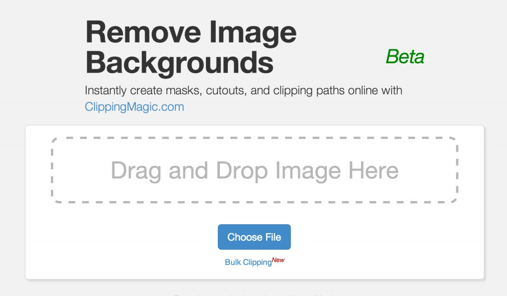 Remove Image Backgrounds