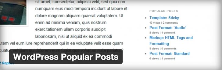 WordPress › WordPress Popular Posts