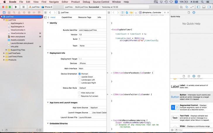 xcode_justTime7