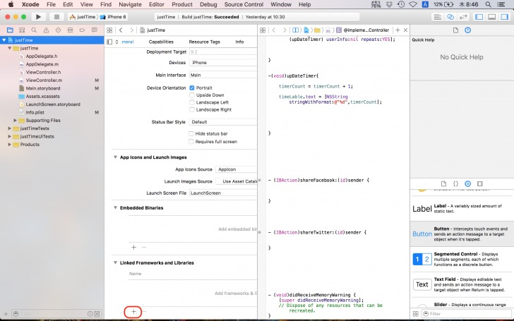 xcode_justTime8